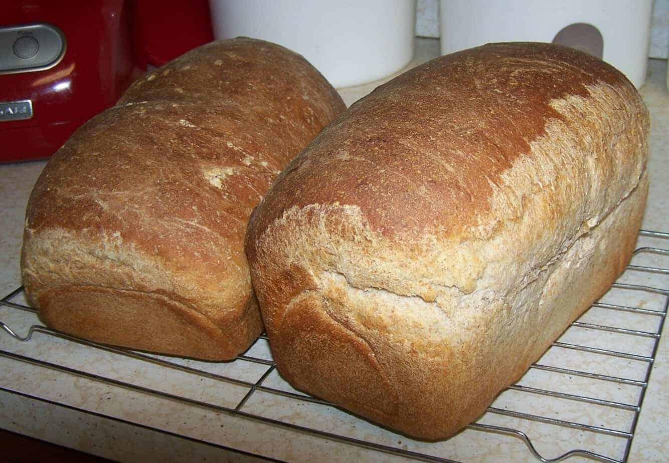 Honey-Whole Wheat Bread