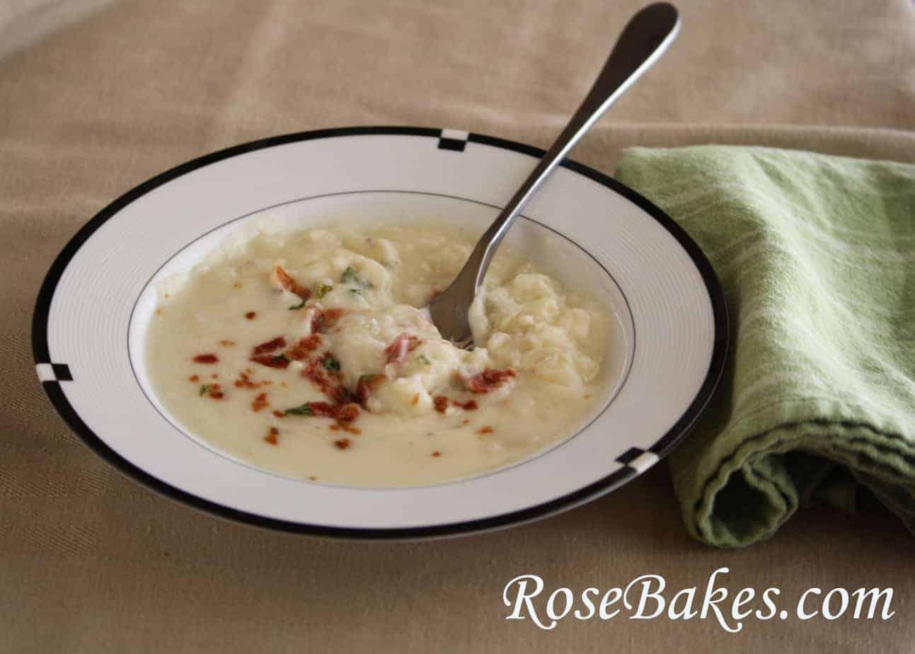 cream cheese potato soup