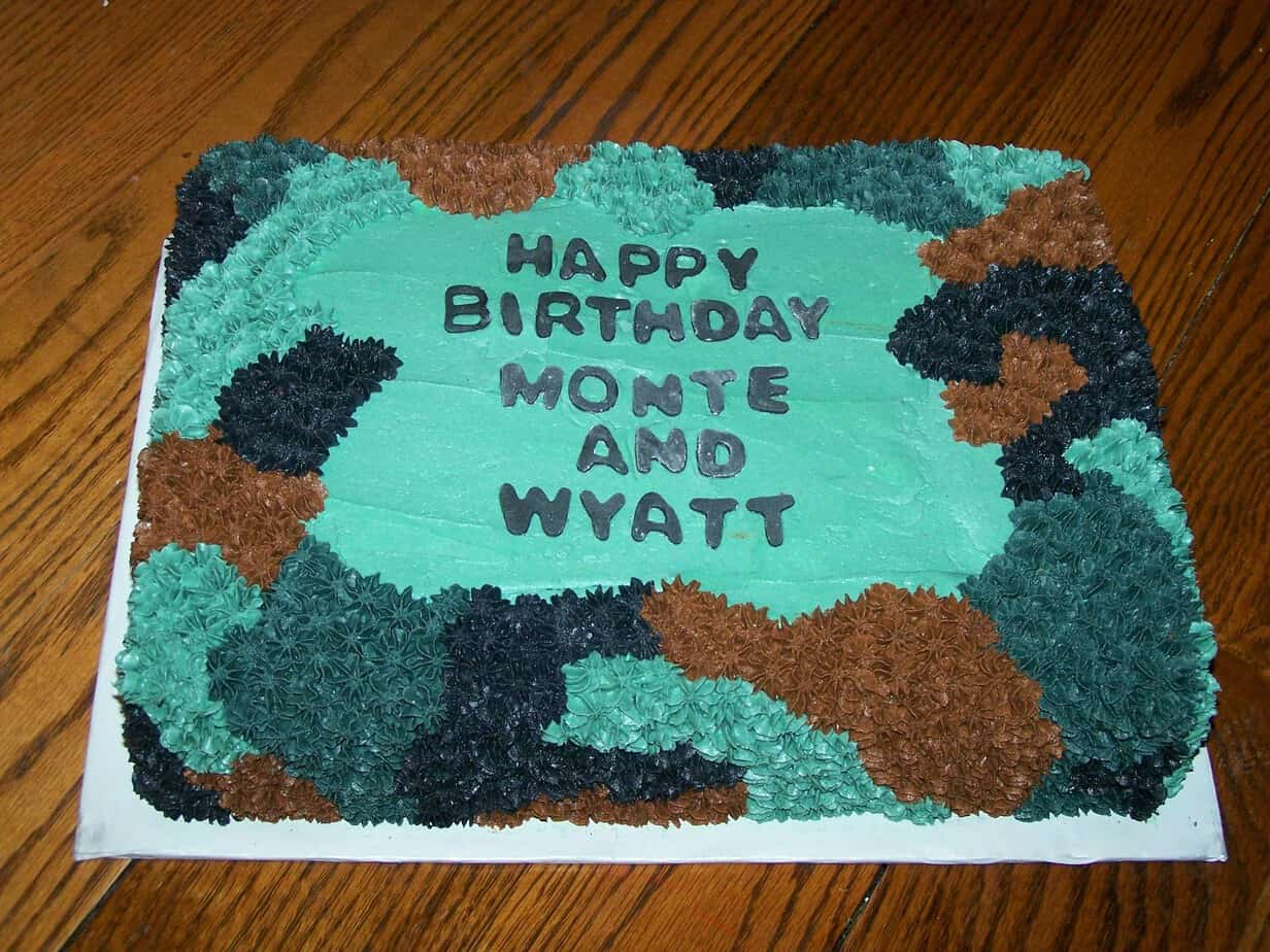 Related pictures camouflage cakes for boys