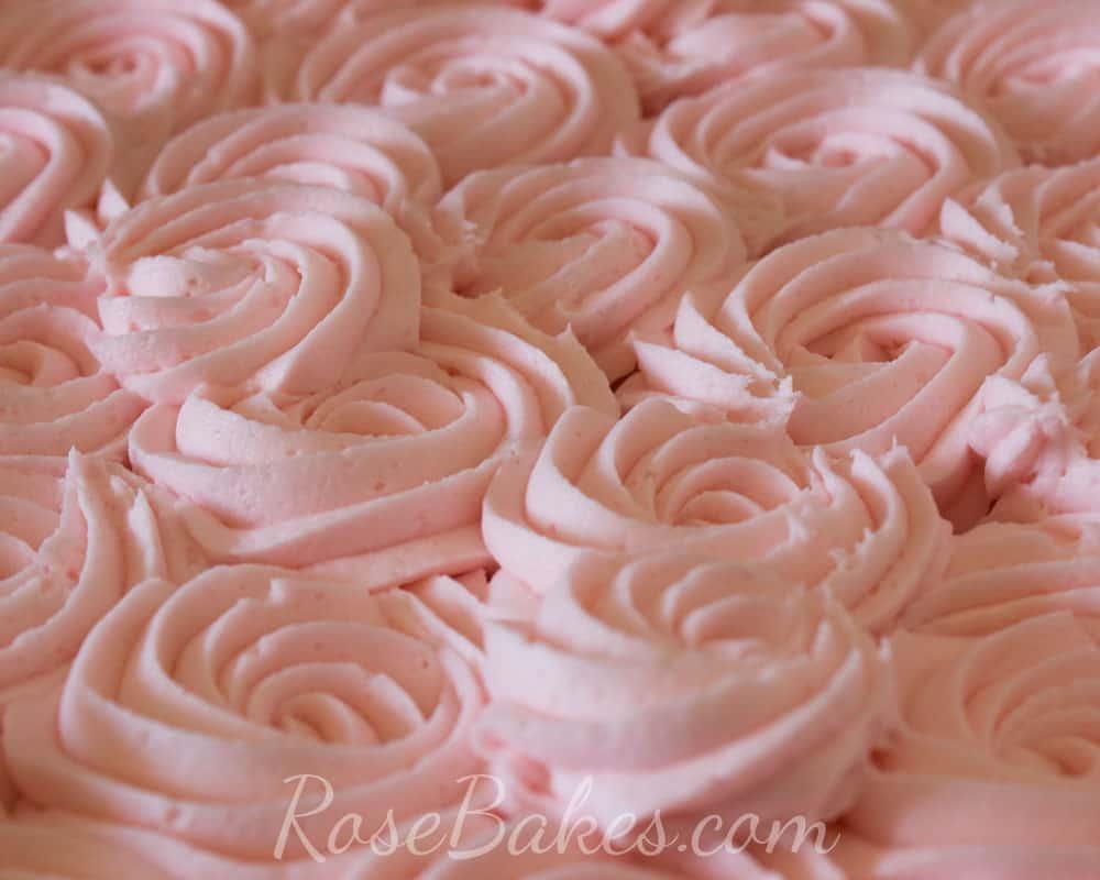 Giant Cupcake Cake + Crusting Cream Cheese Buttercream Recipe {Great ...