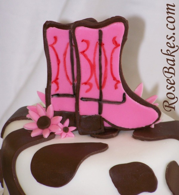 Cowgirl Horse Birthday Cake