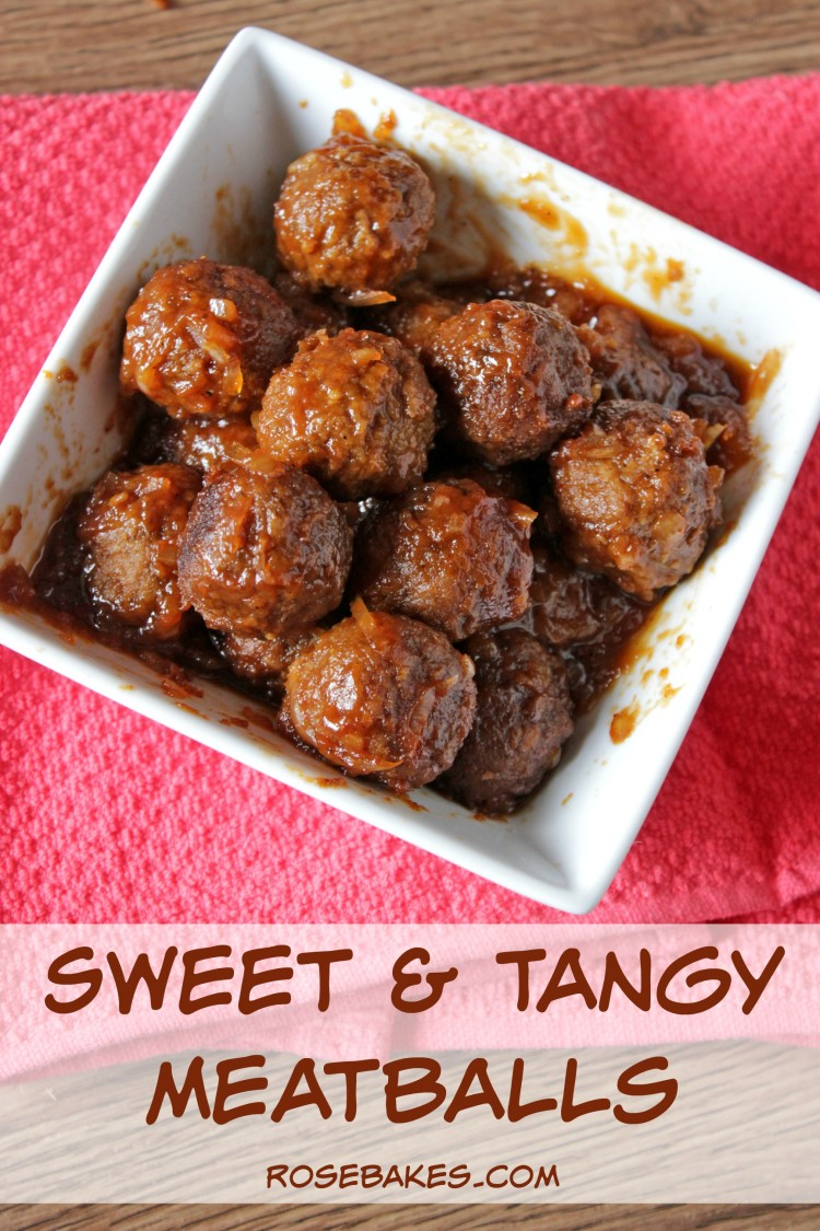 Sweet & Tangy Meatballs
