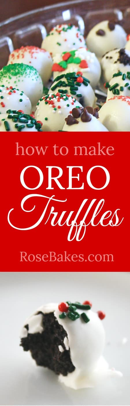 How to Make Oreo Truffles RoseBakes