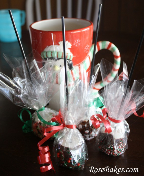 Peppermint Marshmallow Dips For Hot Chocolate Great Gift