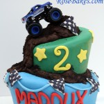 Wonky Monster Truck Cake Full