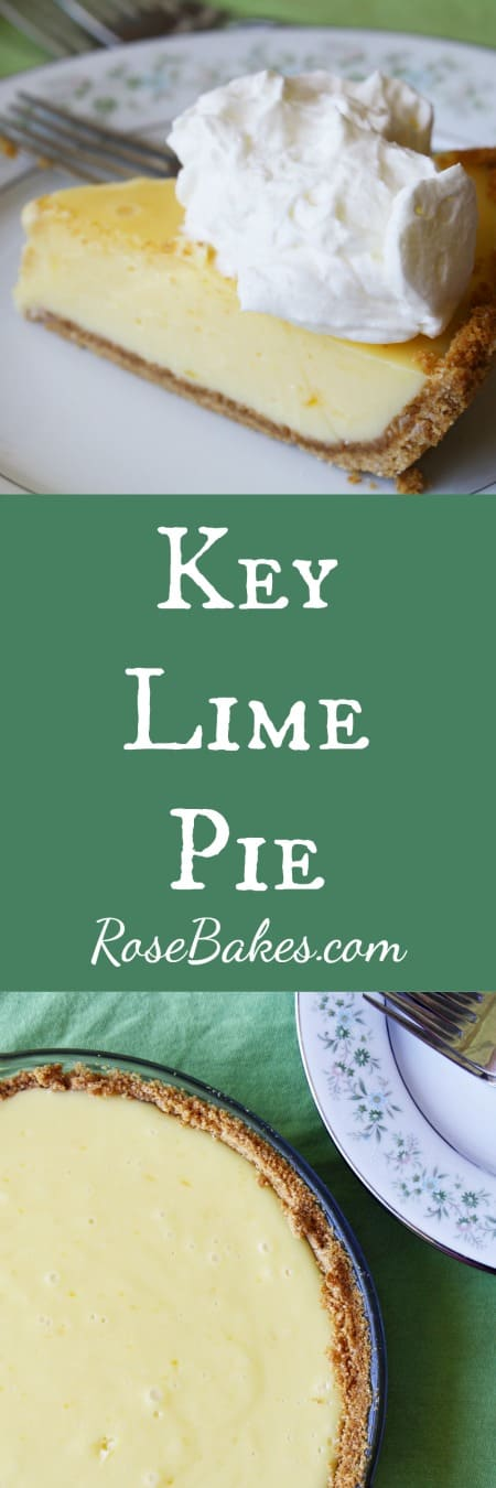 Key Lime Pie by Rose Bakes
