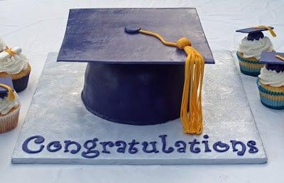 How To Make A Graduation Cupcake Cake