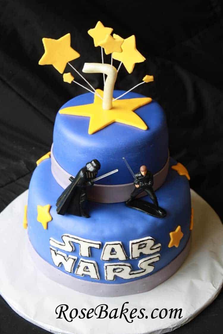 Star Wars Birthday Cake Chocolate Recipe