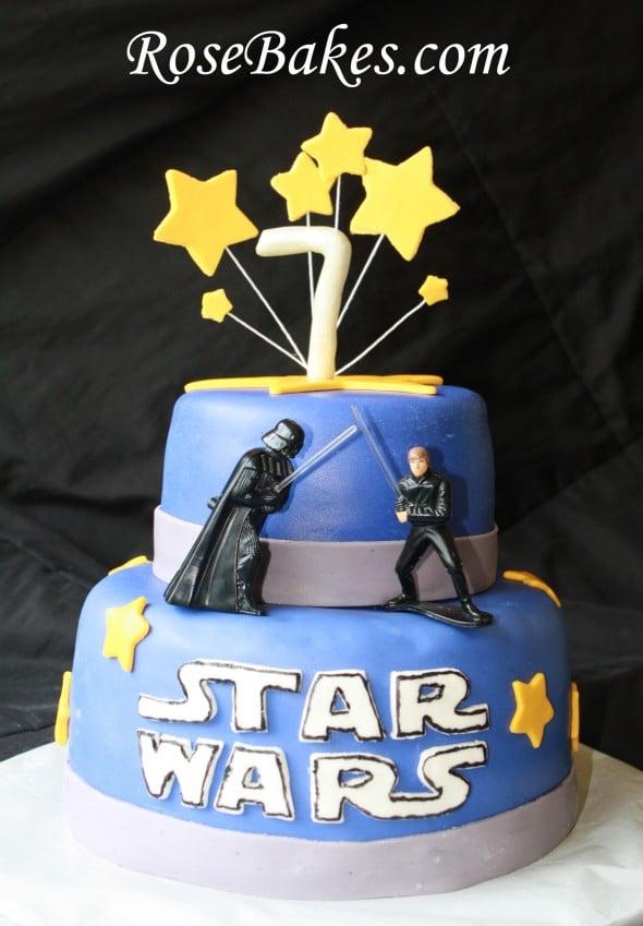 Star Wars Birthday Cake M S