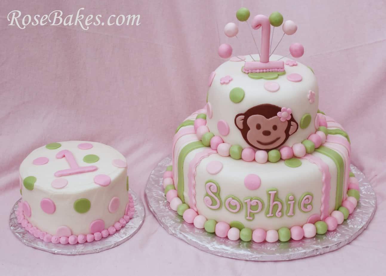 Monkey Cake Decorator