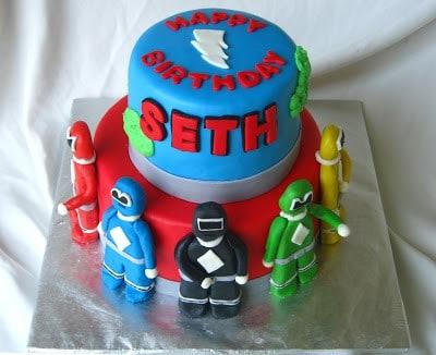 Power Rangers Cake Rose Bakes