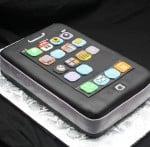 iphone cake corner