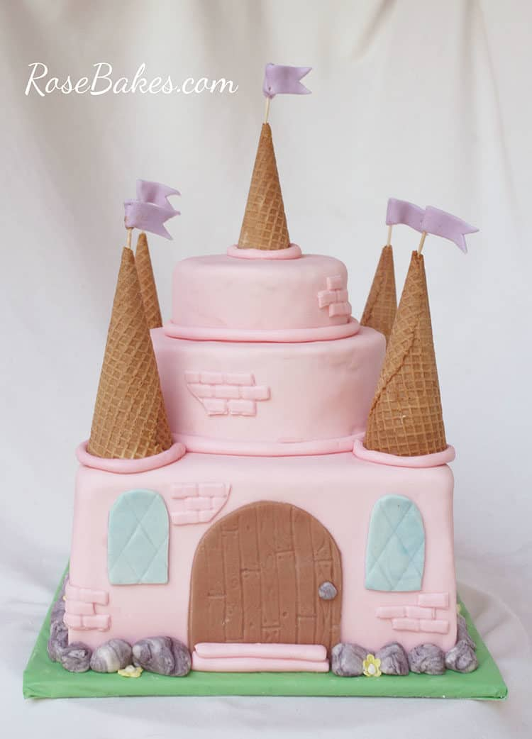 How To Make A Fairy Castle Cake