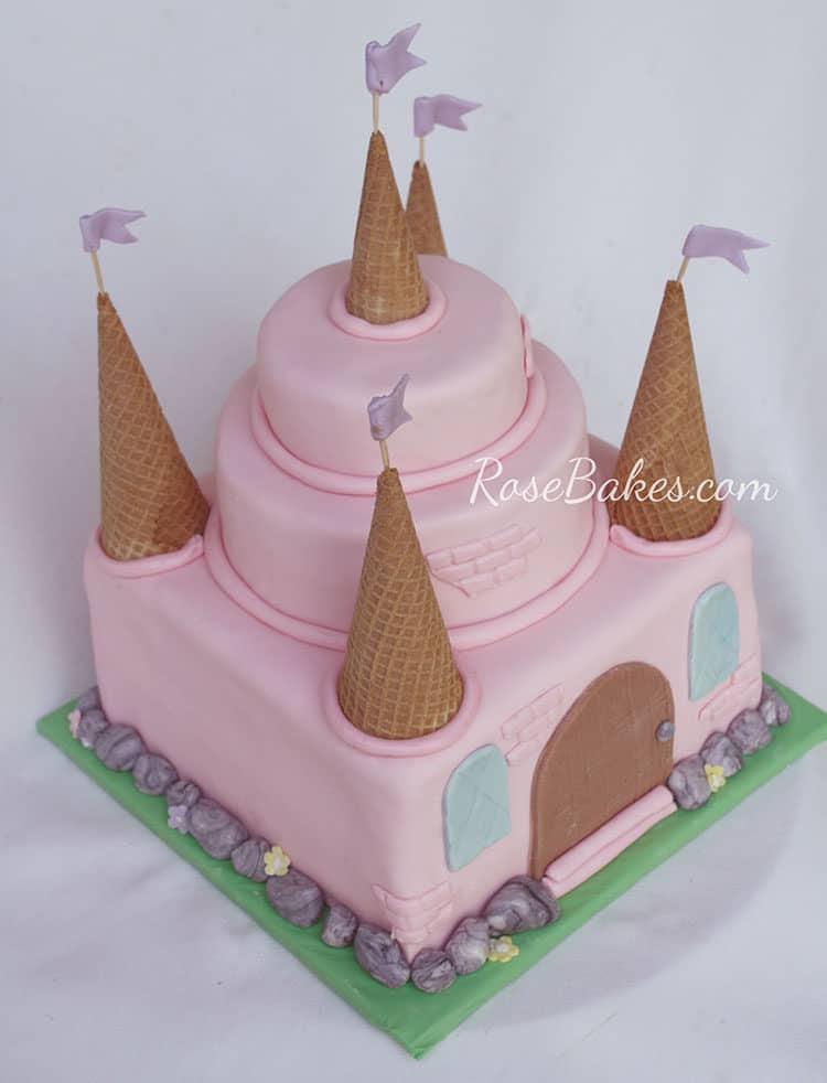 Easy Castle Cake Images