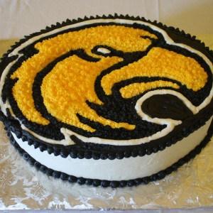 USM Golden Eagles Groom's Cake Side at Reception