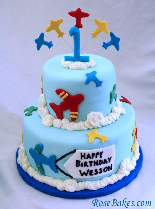 Making A Round Birthday Cake