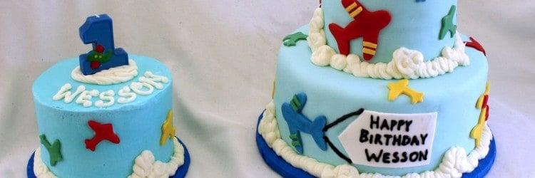 An Airplane Cake A Smash Cookies