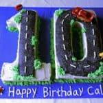 Caleb 10 Cake Above