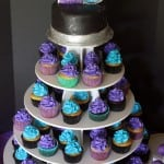 40th Birthday Cake Cupcake Tower
