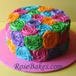 Bright Buttercream Roses RB
