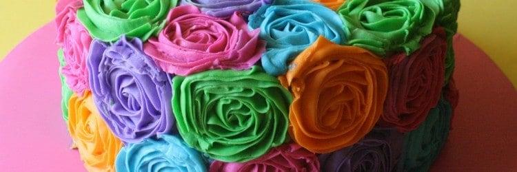 Bright Buttercream Roses RB