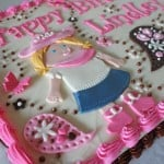 Cowgirl Cake with Butterflies and Paisleys 4