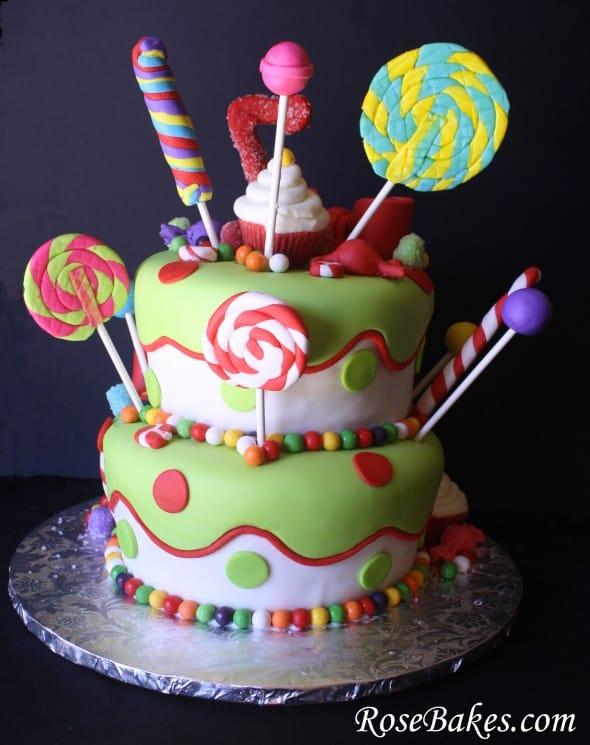 Birthday Cake Name Holly
