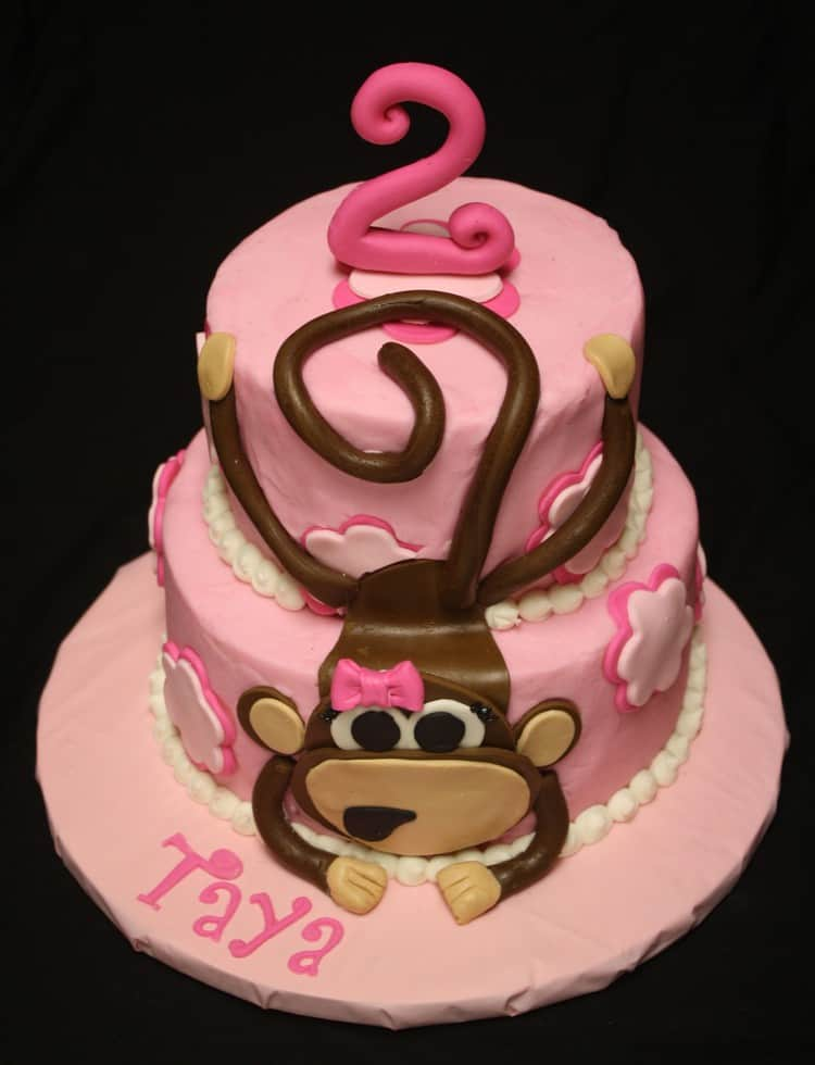 Monkey Cake Cake Ideas and Designs