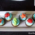 Under the Sea Cupcakes 4x6