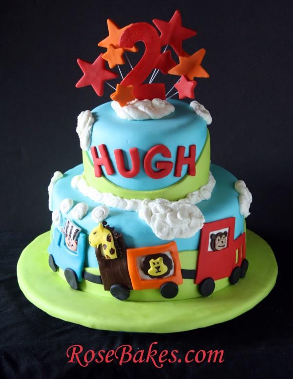 Circus Train Cake Choo