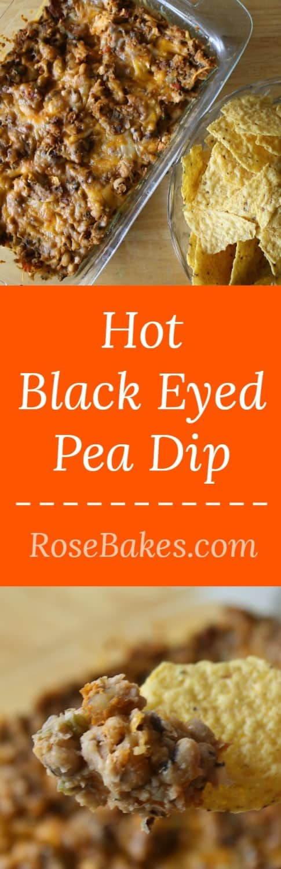 Hot Black Eyed Pea Dip