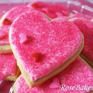 Valentines Cookies + Royal Icing Recipe
