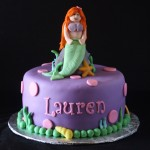 Ariel Mermaid Cake 3