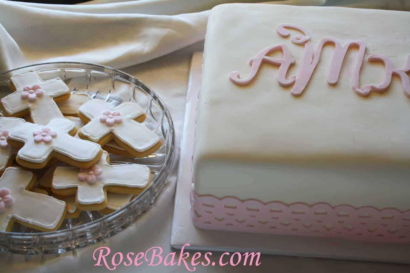 Baby Dedication Cake Photos