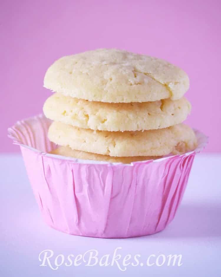Butter Crisp Cookies 6