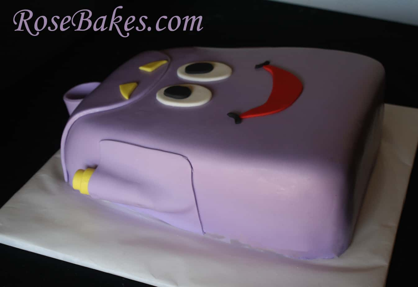 Dora the Explorer Backpack Cake 4 Rose Bakes