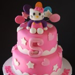 Hello Kitty Birthday Cake Front