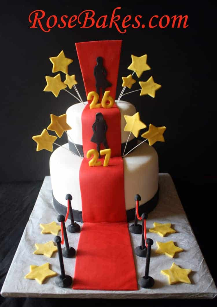 Red Carpet Cake Images : A Hollywood Red Carpet Cake