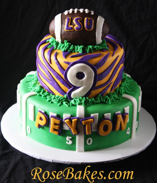Lsu Themed Birthday Cakes
