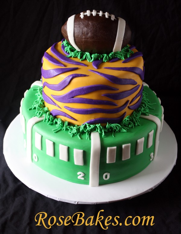 Lsu Birthday Cake Decorations
