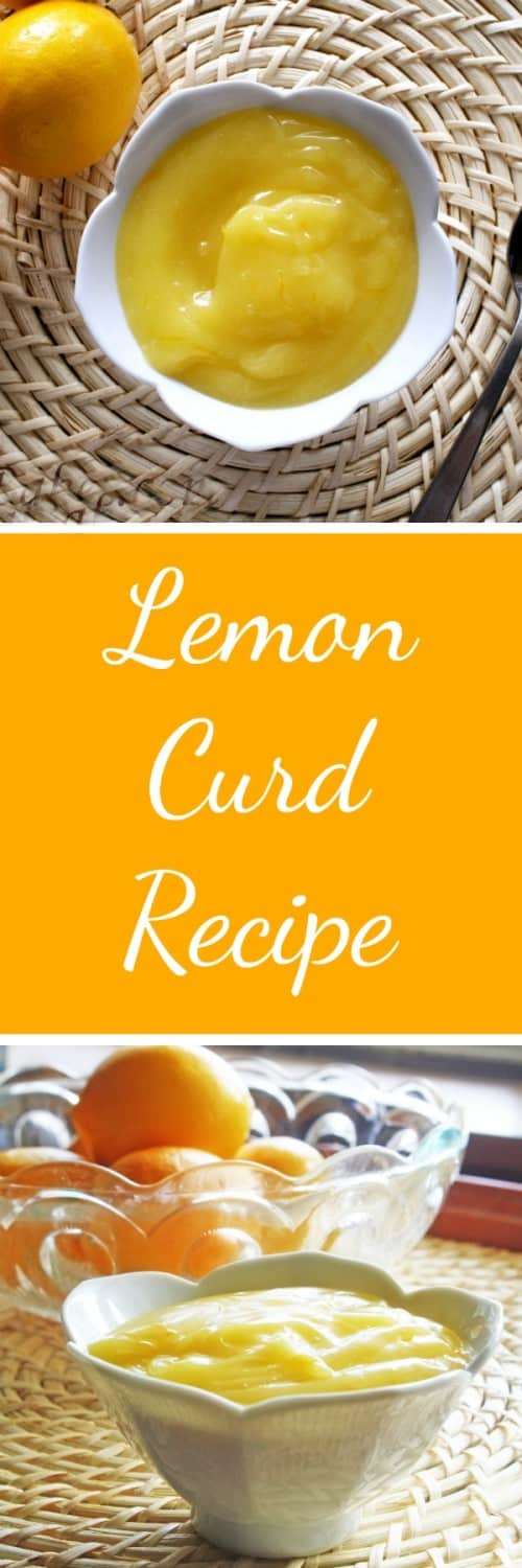 Lemon Curd Recipe RoseBakes