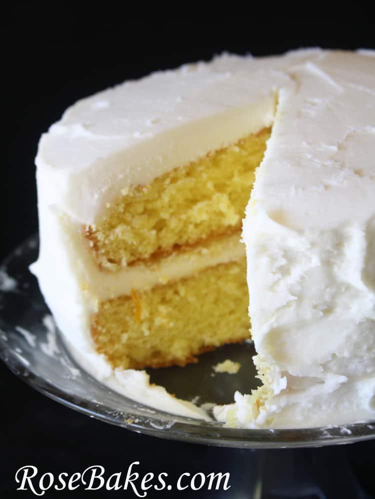 Lemon Supreme Cake Recipe