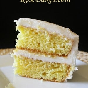 Lemon Icebox Cake with Lemon Curd Filling & Cream Cheese Frosting