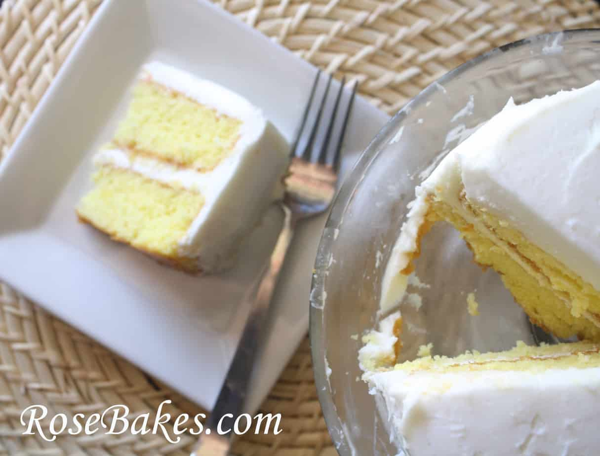 Ice Cream Cake Icing Recipes With Pictures: Lemon Icebox Cake With Lemon Curd And Cream Cheese