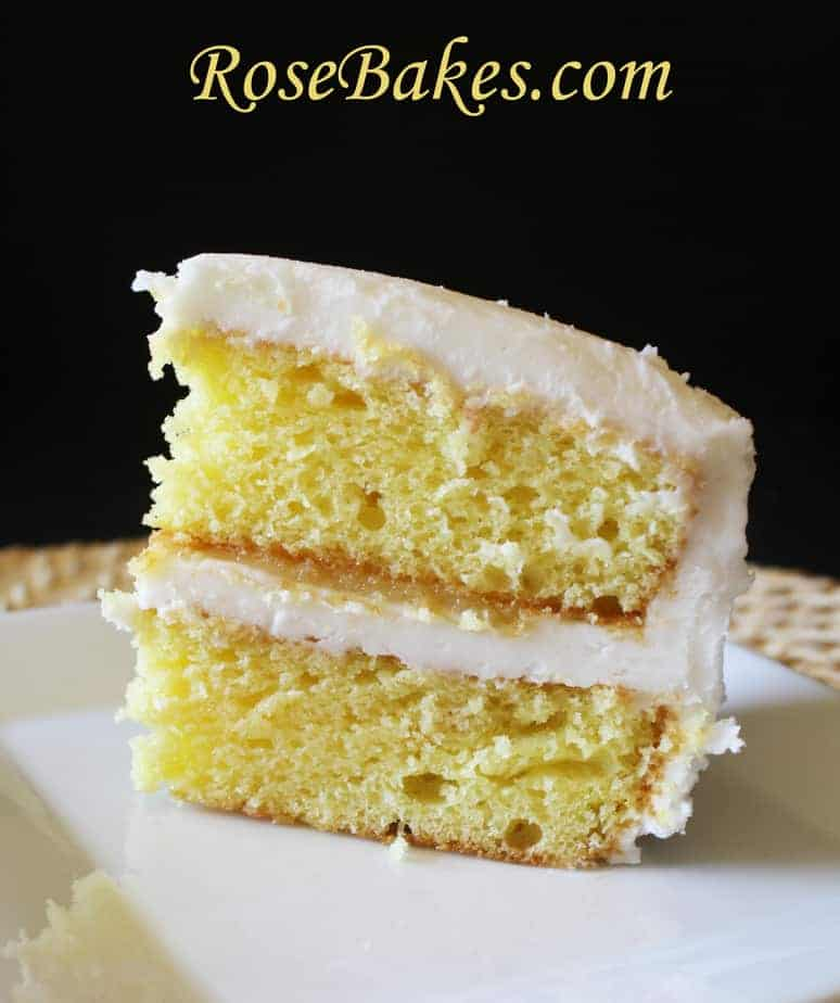 Lemon And Poppy Seed Cake With Cream Cheese Icing