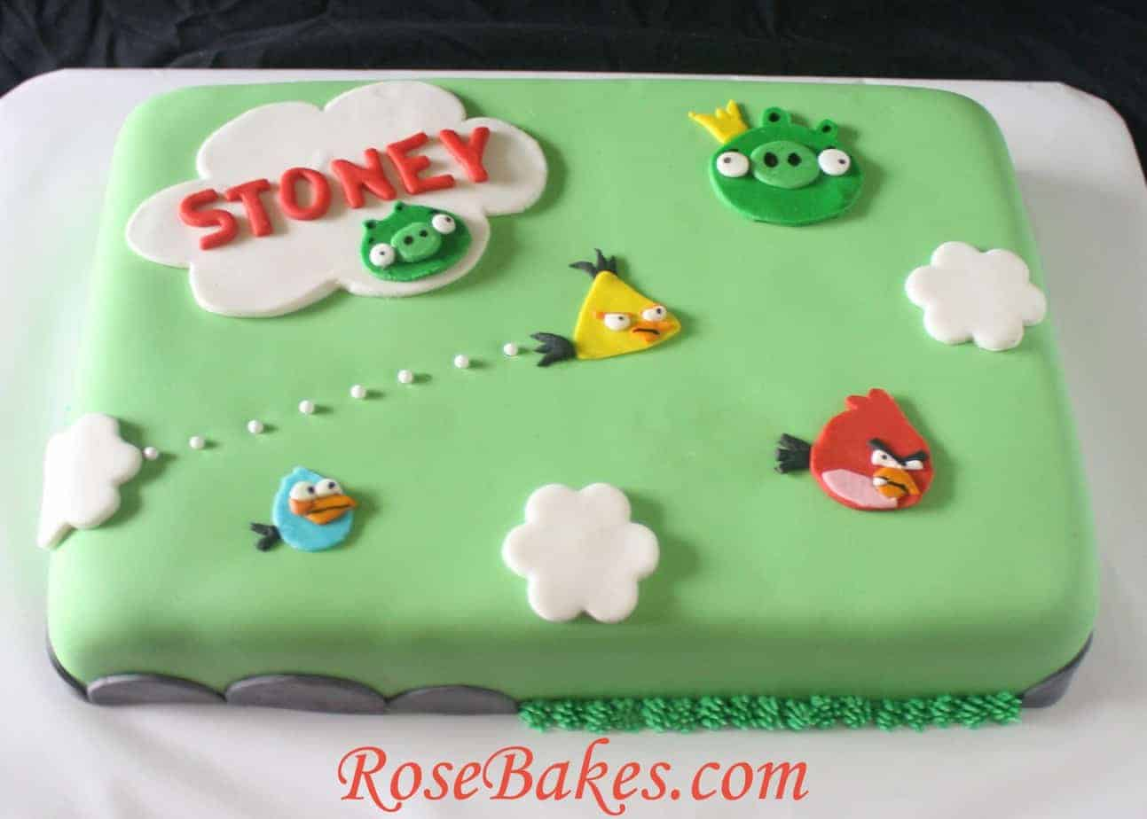 Images Of Angry Birds Cake : Easy Angry Birds Cake www.pixshark.com - Images ...