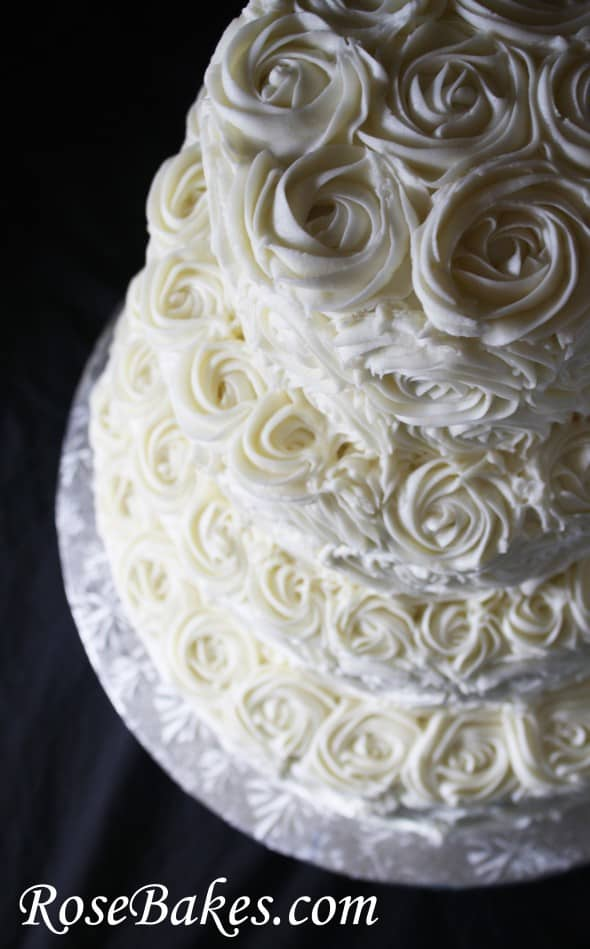 How Much Frosting For Wedding Cake
