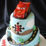 Cars 2 Cake Right Side