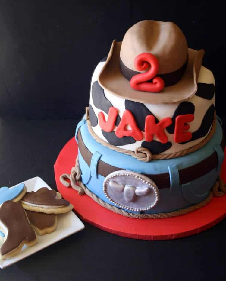 Cowboy Cake and Cookies