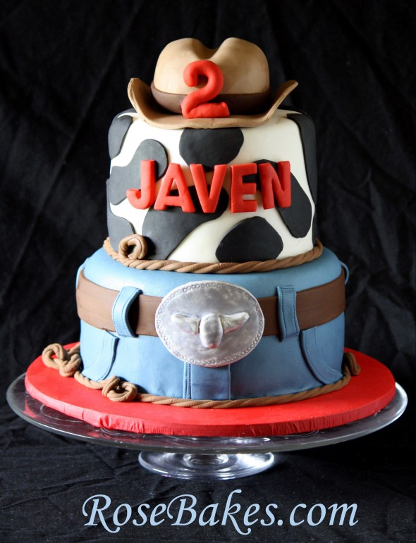 Cowboy Western Cakes And Smash Cakes How To Stack Cake Tiers